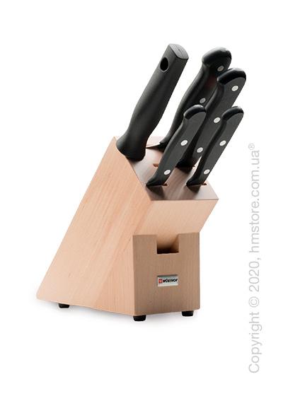 Набор ножей Wüsthof коллекция Gourmet, 5 предметов, Natural Wood
