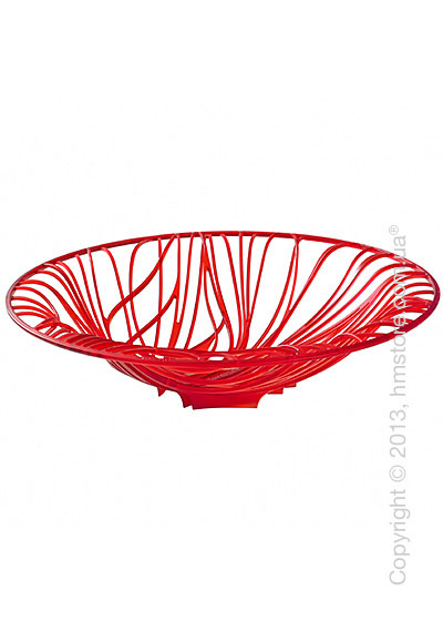 Фруктовница Bugatti Flora, Красная