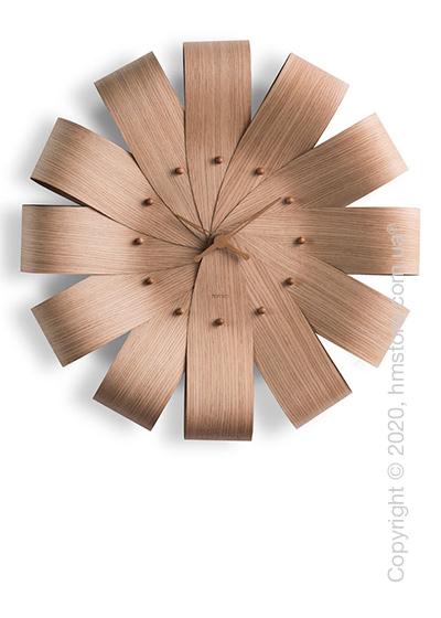 Часы настенные Nomon Ciclo Wall Clock, Oak