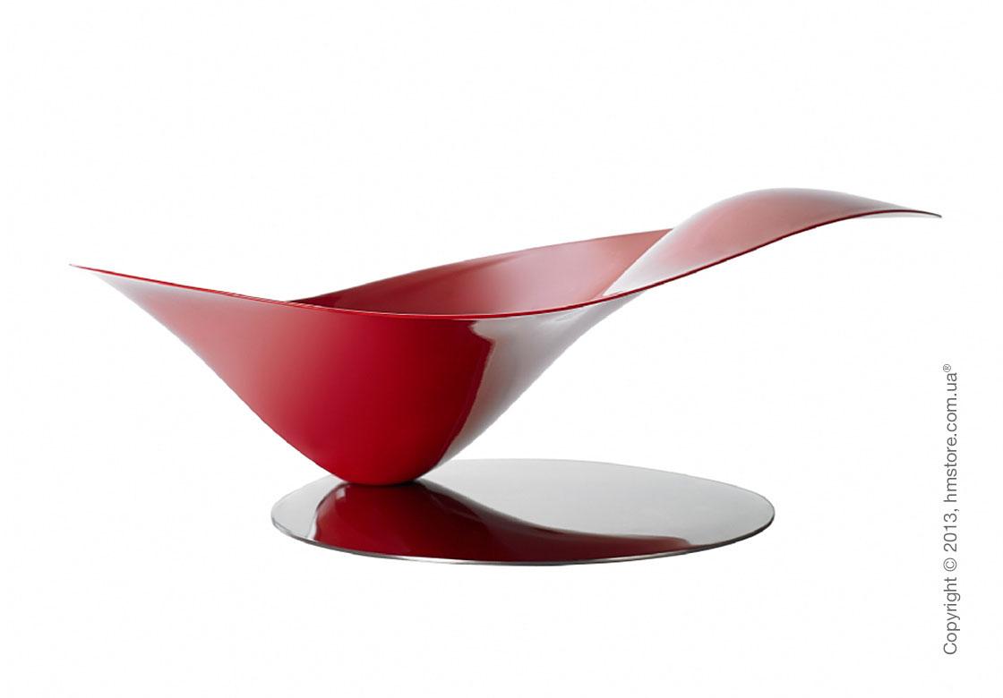 Фруктовница Bugatti Petalo, Красная