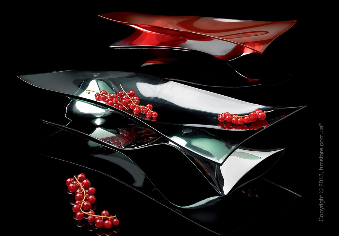 Фруктовница Bugatti Soffio, Хром