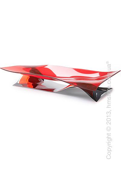 Фруктовница Bugatti Soffio, Красная