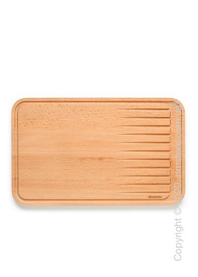 Разделочная доска деревянная для мяса Brabantia Profile Large