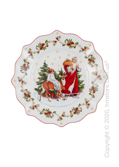 Тарелка десертная мелкая Villeroy & Boch коллекция Annual Christmas Edition 2020, 24 см