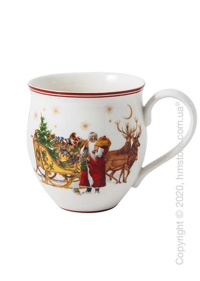 Чашка Villeroy & Boch коллекция Toy's Delight Santa with Sleigh, 340 мл