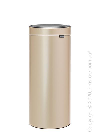 Ведро для мусора Brabantia Touch Bin New 30 л, Champagne