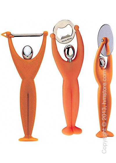 Набор кухонного инвентаря Bugatti Gym, Оранжевый