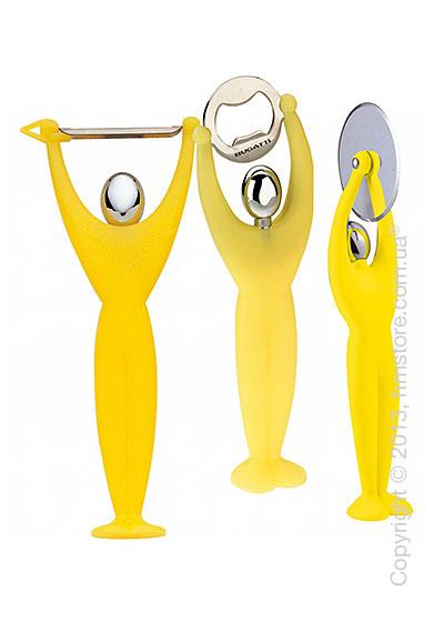 Набор кухонного инвентаря Bugatti Gym, Желтый