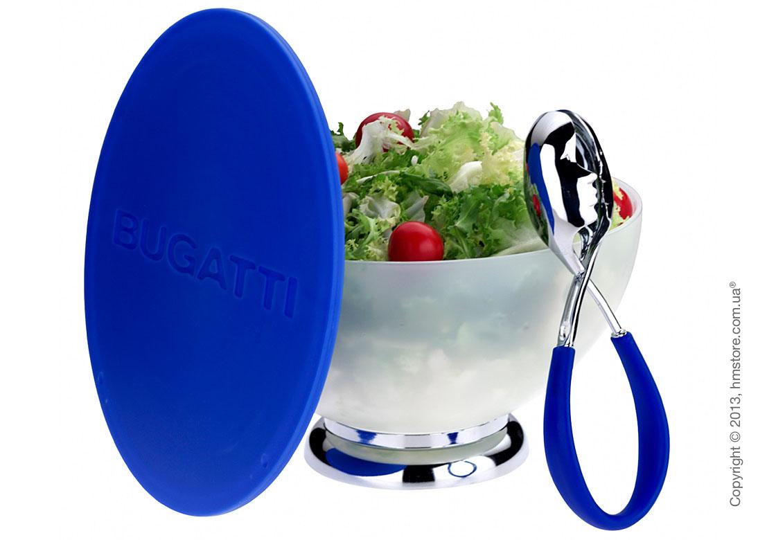 Щипцы для салата Bugatti Molla Kiss, Синие