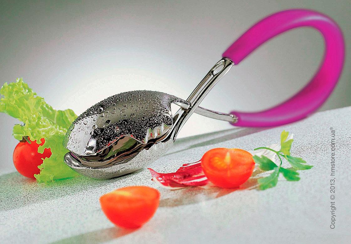 Щипцы для салата Bugatti Molla Kiss, Fuchsia