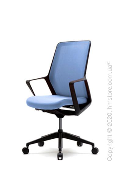 Кресло офисное на колесиках Enran Flo High, Black and Blue