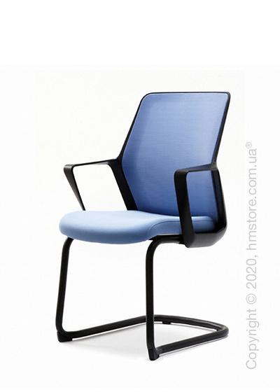 Кресло посетительское Enran Flo, Black and Blue