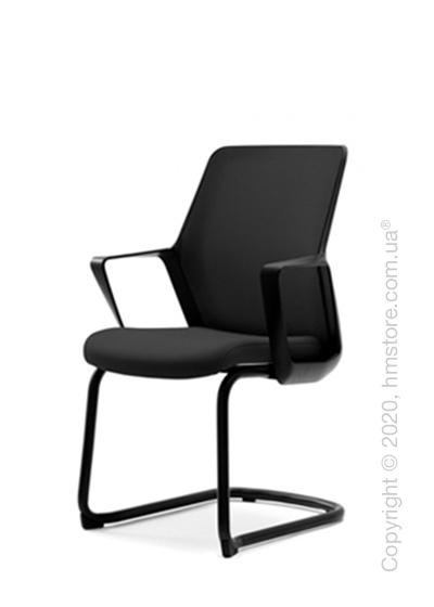 Кресло посетительское Enran Flo, Black