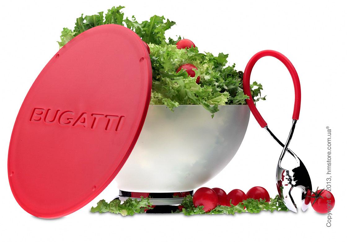 Щипцы для салата Bugatti Molla Kiss, Красные