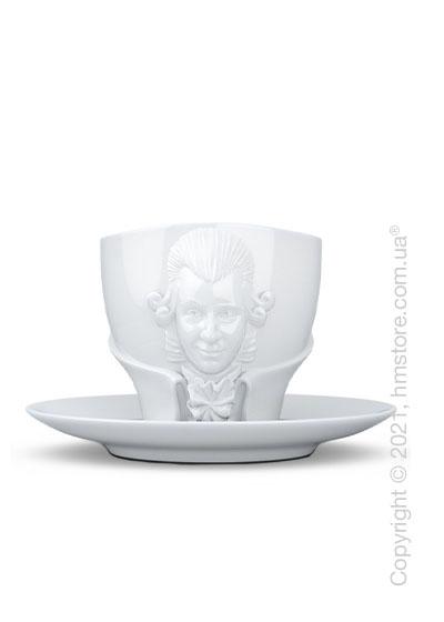 Чашка с блюдцем Tassen Wolfgang Amadeus Mozart, 260 мл