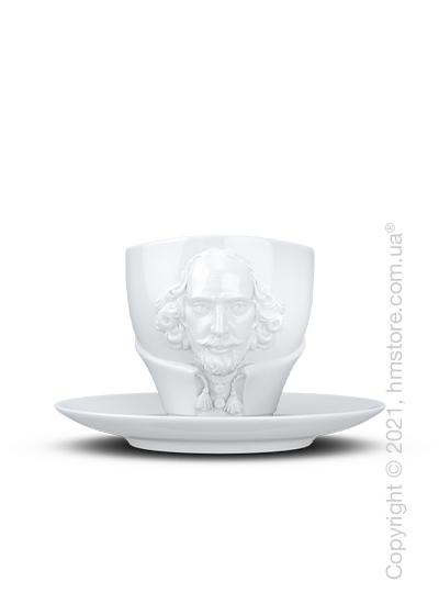 Чашка с блюдцем Tassen William Shakespeare, 260 мл