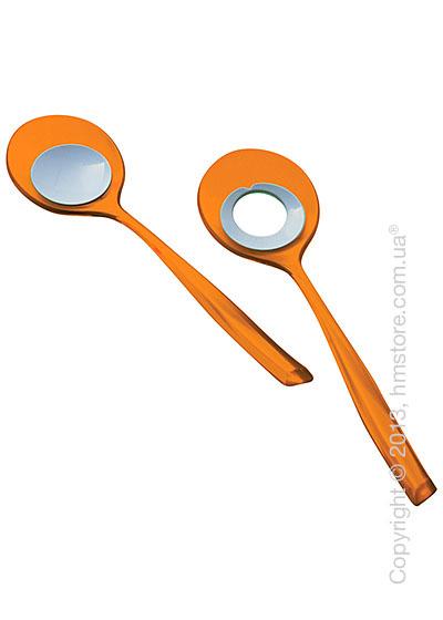 Ложки для салата Bugatti Glamour, Оранжевые