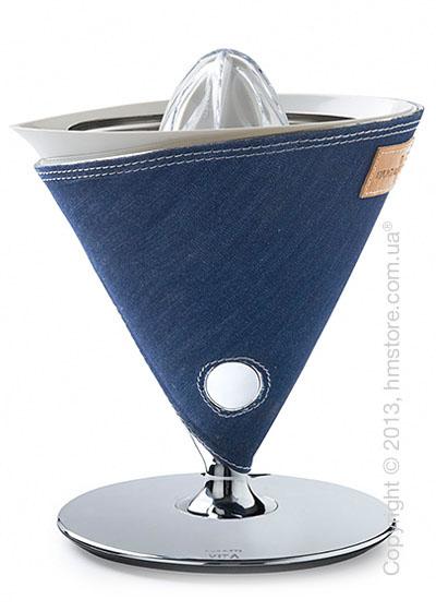 Соковыжималка для цитрусовых Bugatti VITA Individual, Denim