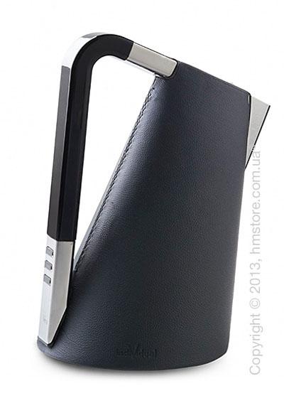 Чайник электрический Bugatti Individual VERA Leather, Black