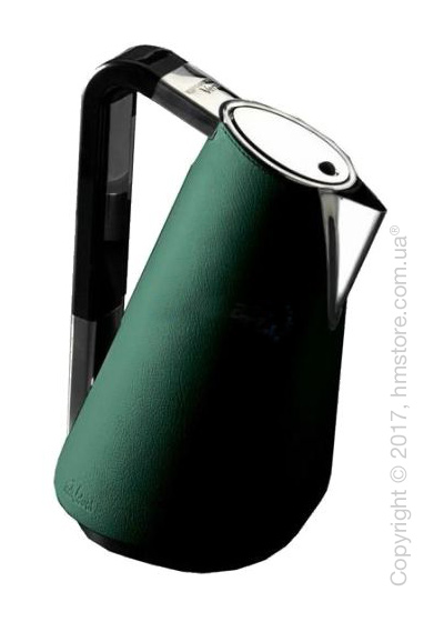Чайник электрический Bugatti Individual VERA Leather, Green