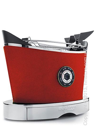 Тостер Bugatti Individual VOLO Leather, Red