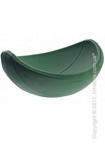 Фруктовница в коже Bugatti Individual Ninnananna Leather, Зеленая