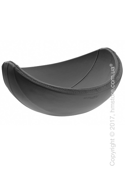 Фруктовница в коже Bugatti Individual Ninnananna Leather, Серая