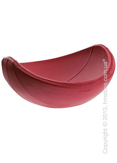 Фруктовница в коже Bugatti Individual Ninnananna Leather, Красная