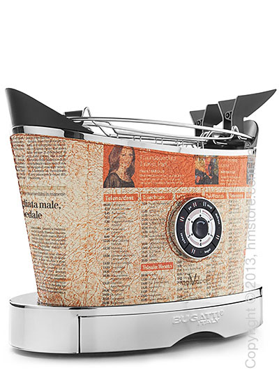 Тостер Bugatti Individual VOLO Leather, Newspaper
