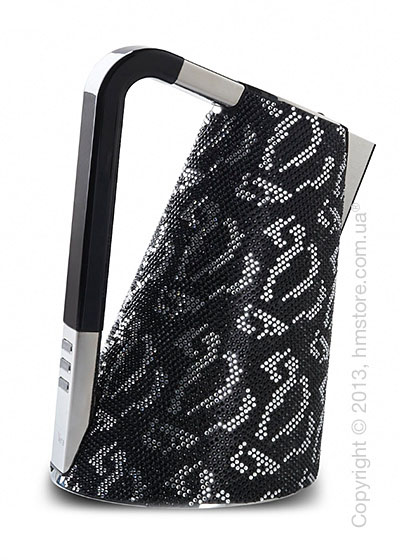 Чайник электрический Bugatti Individual VERA Sparkle of crystals, Black