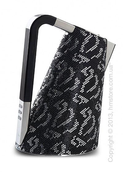 Чайник электрический Bugatti Individual VERA Sparkle of crystals, Black
