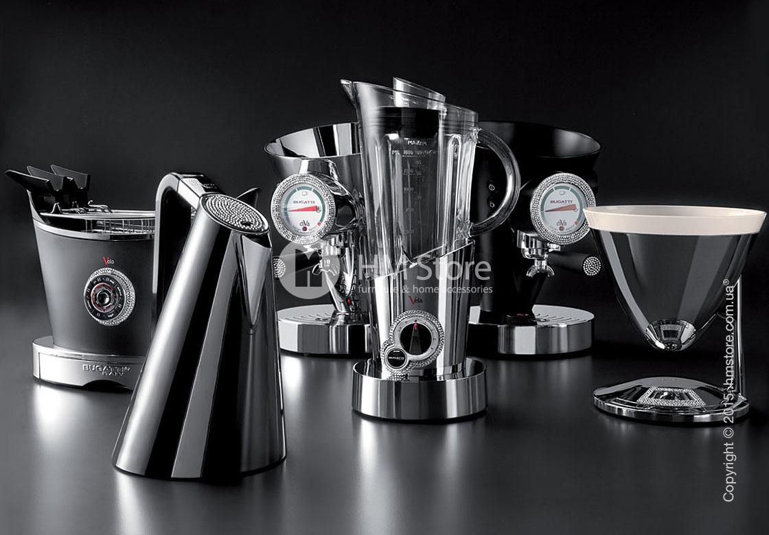 Весы кухонные Bugatti Individual UMA Details of light, Chromed
