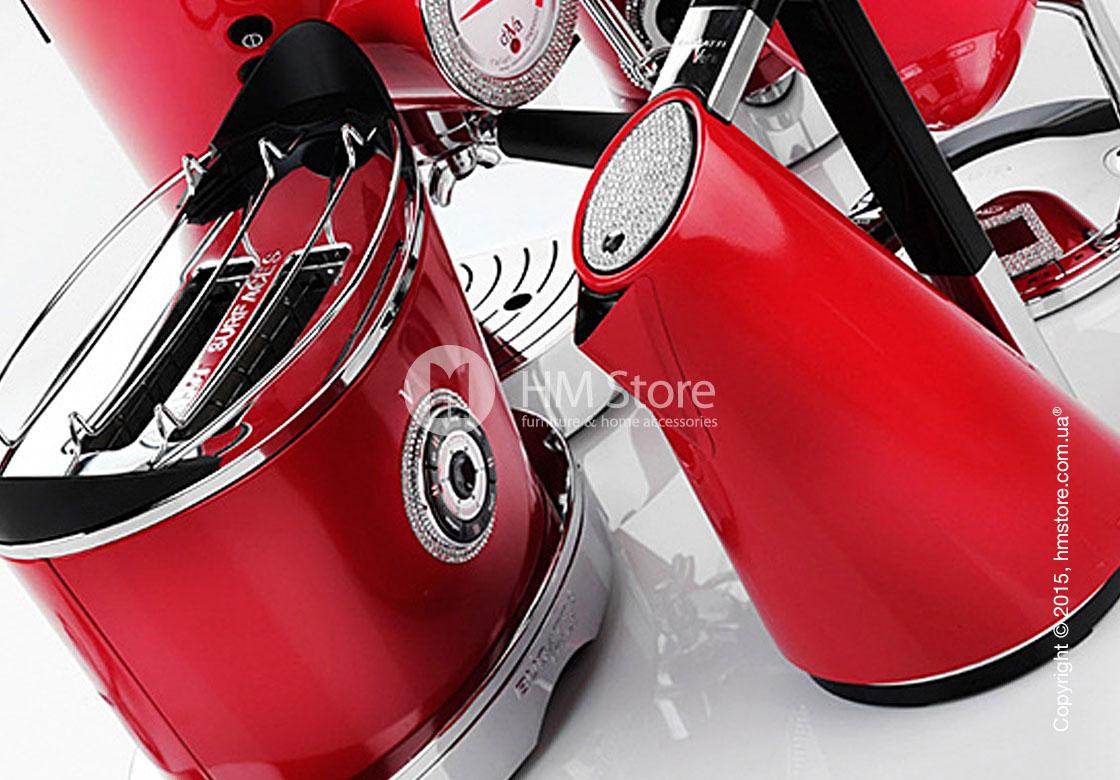 Тостер Bugatti Individual VOLO Details of light, Red