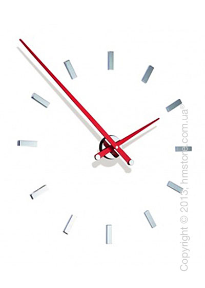Часы настенные Nomon Tacon 12 L Wall Clock, Red