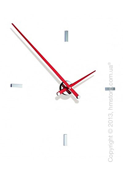 Часы настенные Nomon Tacon 4 L Wall Clock, Red