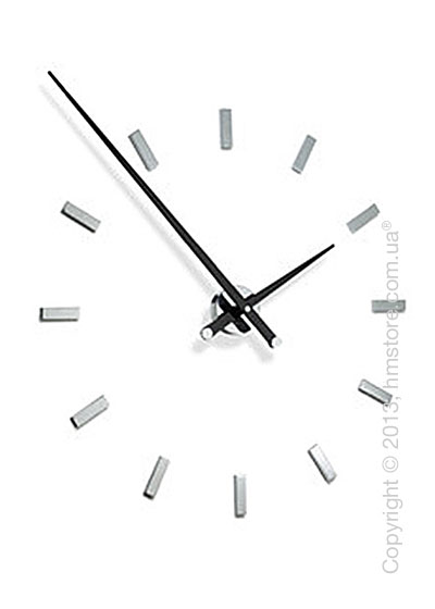 Часы настенные Nomon Tacon 12 L Wall Clock, Black