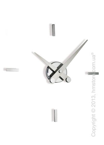 Часы настенные Nomon Puntos Suspensivos 4 I Wall Clock, Steel