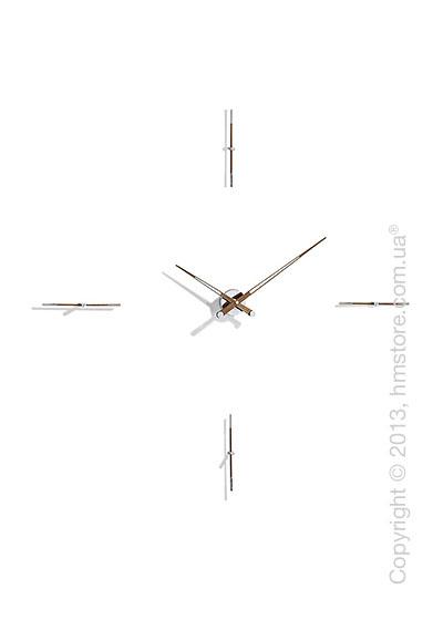 Часы настенные Nomon Merlin 4 N Wall Clock, Walnut