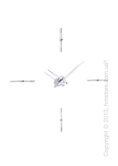 Часы настенные Nomon Merlin 4 I Wall Clock, Steel