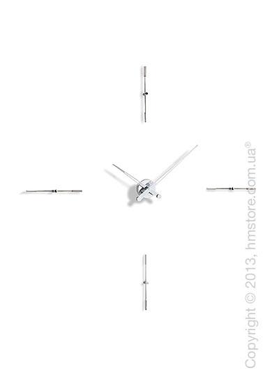 Часы настенные Nomon Merlin 4 I Wall Clock, Steel