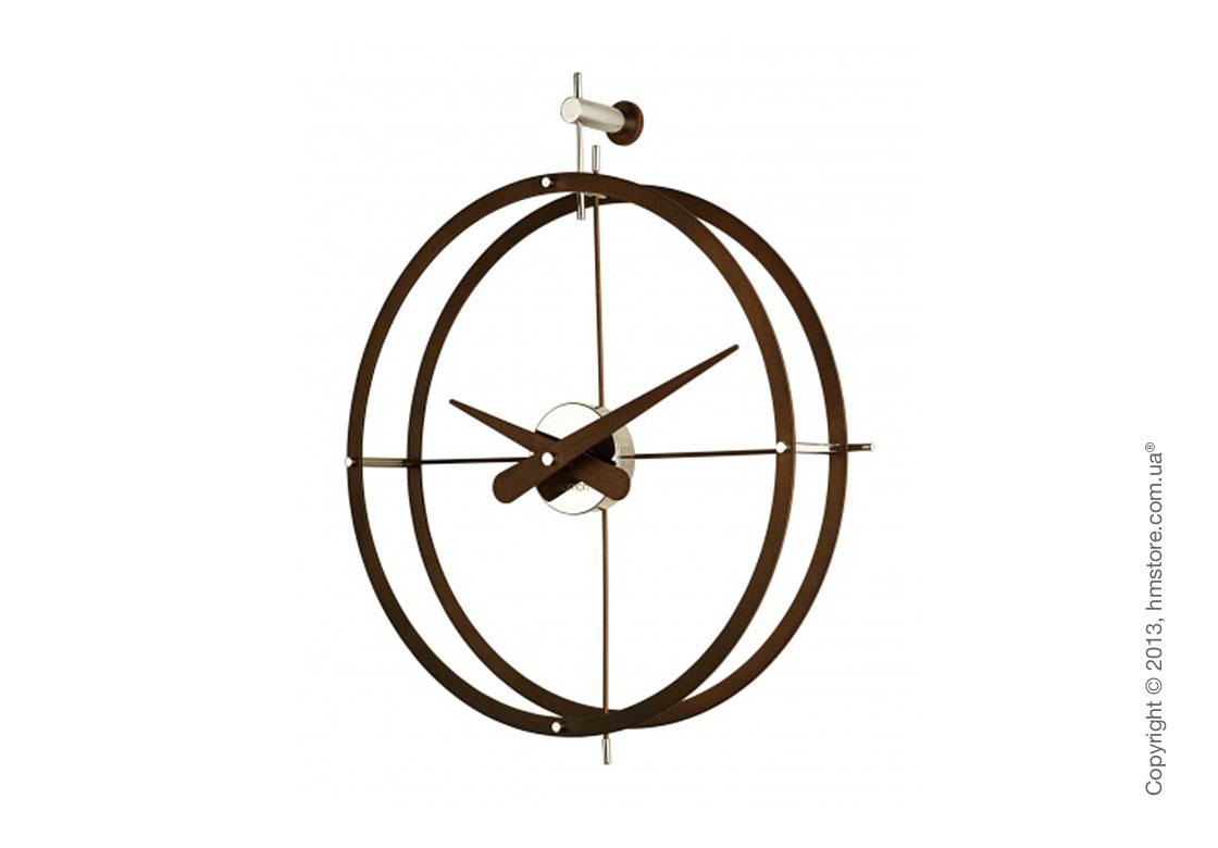 Часы настенные Nomon 2 Puntos N Wall Clock, Кедр