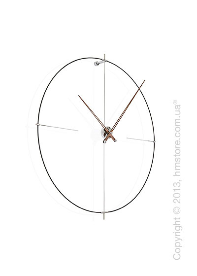 Часы настенные Nomon Bilbao N Wall Clock, Black