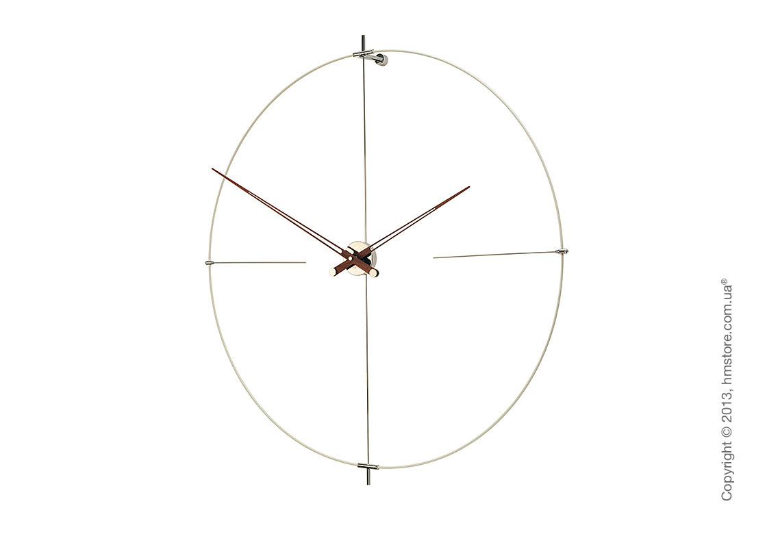 Часы настенные Nomon Bilbao N Wall Clock, White