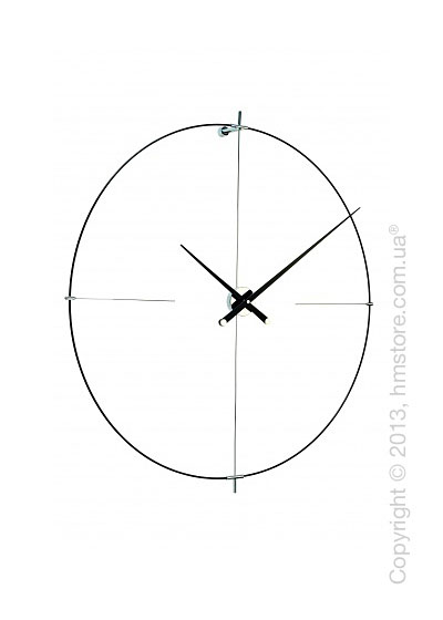 Часы настенные Nomon Bilbao L Wall Clock, Black
