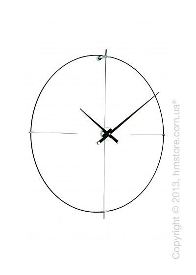 Часы настенные Nomon Bilbao L Wall Clock, Black