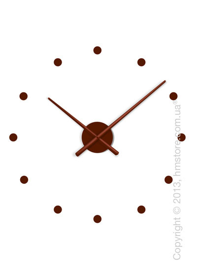 Часы настенные Nomon Oj Mini Wall Clock, Chocolate