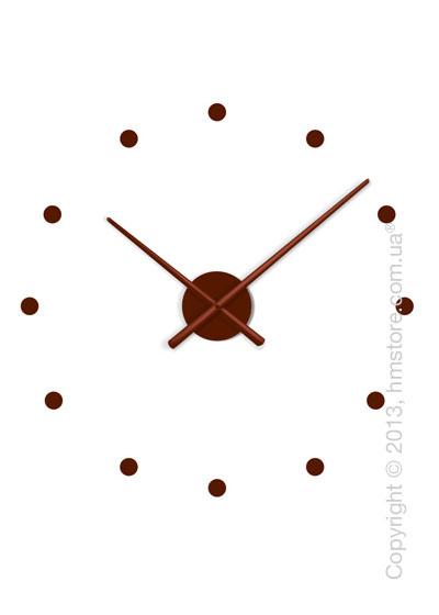 Часы настенные Nomon Oj Mini Wall Clock, Chocolate