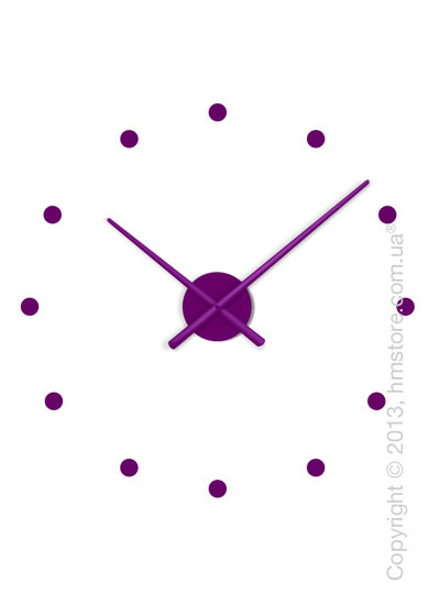 Часы настенные Nomon Oj Mini Wall Clock, Purple