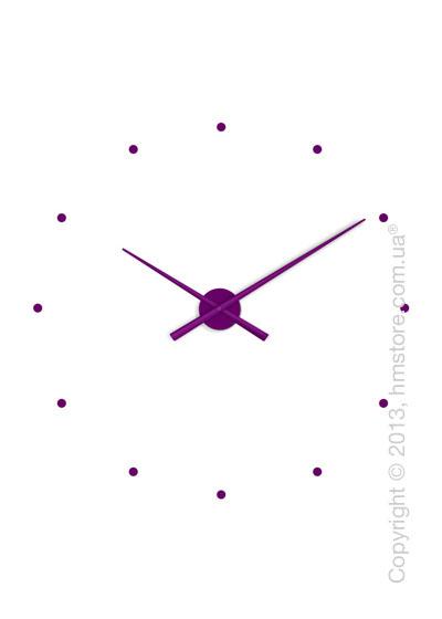 Часы настенные Nomon Oj Wall Clock, Purple