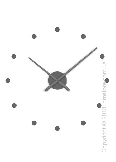 Часы настенные Nomon Oj Mini Wall Clock, Grey